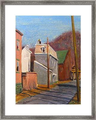 Morning On 50th Street Framed Print by Martha Ressler