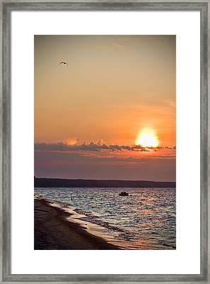 Morning On Earth Framed Print by Michel Filion