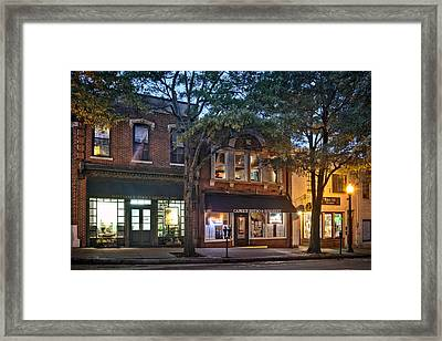 Morning On Market Street Framed Print