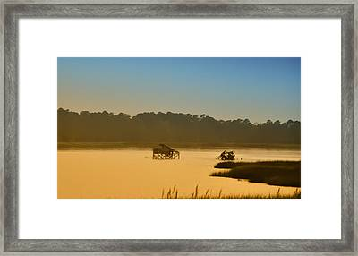 Morning On The Bay Framed Print by Bill Cannon