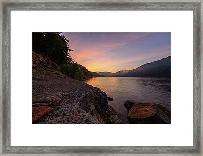 Morning On The Bay Framed Print