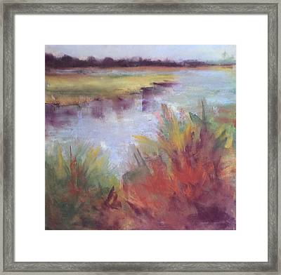 Morning On The Marsh Framed Print