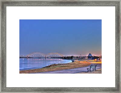 Morning On The Mississippi Framed Print
