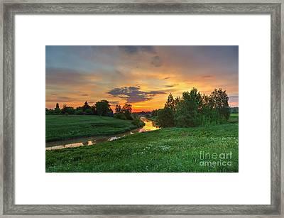 Morning On The River Framed Print by Veikko Suikkanen