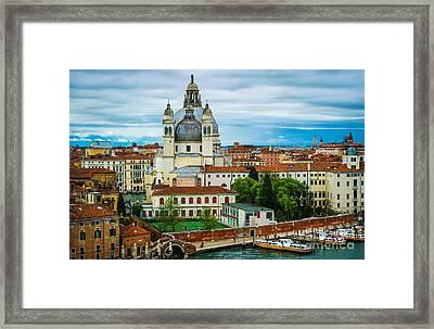 Morning Over Venice Framed Print by Ken Andersen