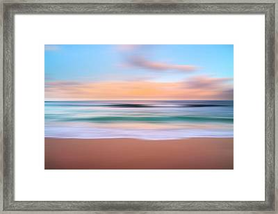 Morning Pastels Framed Print by Sean Davey