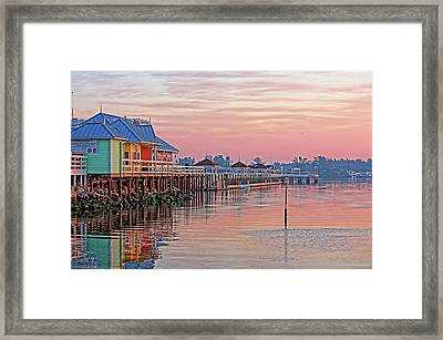 Morning Peace Framed Print