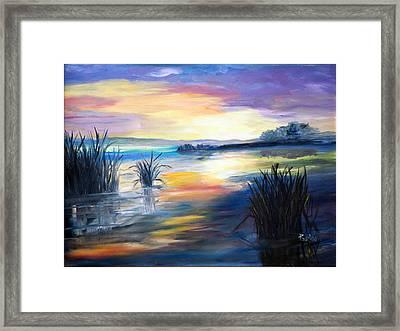 Morning Framed Print by Phil Burton