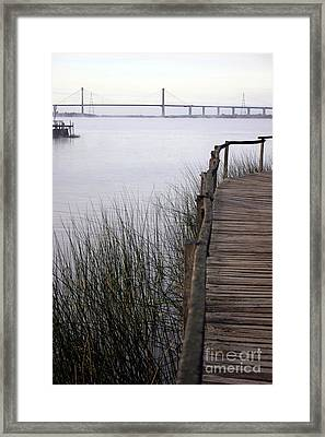 Morning Pier 2 Framed Print