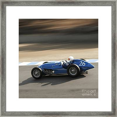 Morning Practice Framed Print by Curt Johnson