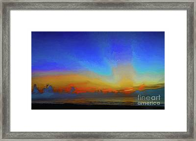 Morning Rays Framed Print by Dave Bosse