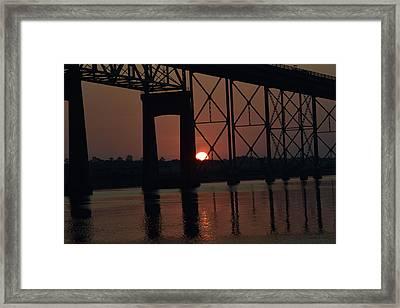 Morning Reflections Framed Print by John Glass