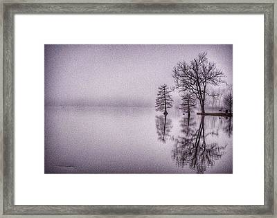 Framed Print featuring the photograph Morning Reflections by Sumoflam Photography