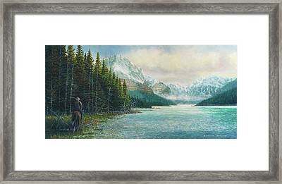 Morning Ride Framed Print by Douglas Castleman