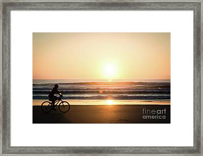 Morning Ride Framed Print by Ed Taylor