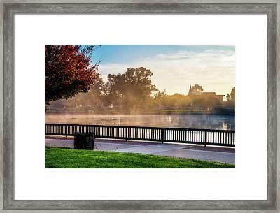 Morning Rising Framed Print by Terry Davis