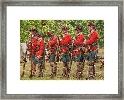 Framed Print featuring the digital art Morning Roll Call  by Randy Steele