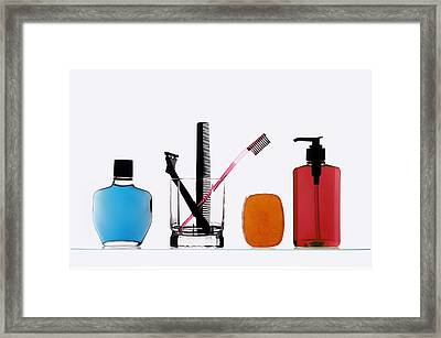 Morning Routine Framed Print by Gerard Fritz