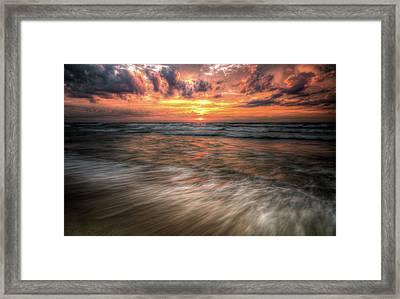 Morning Rush Framed Print