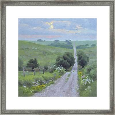 Morning Rush Hour Framed Print