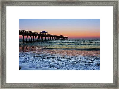 Morning Rush Framed Print by Laura Fasulo