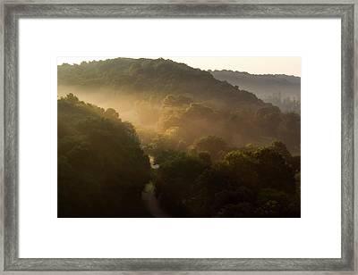 Morning Rushes In Framed Print