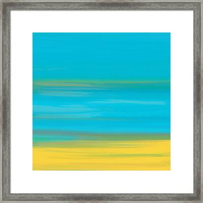 Morning Sea Framed Print