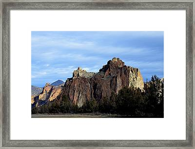 Morning Sentinel  Framed Print