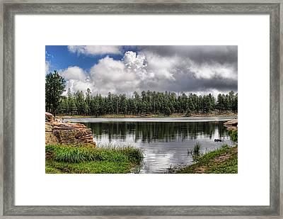 Morning Serenity  Framed Print by Saija  Lehtonen