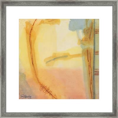 Morning Series - 2 Framed Print by Sally  Tuttle