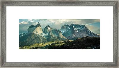 Morning Shadows Framed Print by Andrew Matwijec