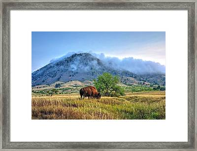 Morning Shift Framed Print