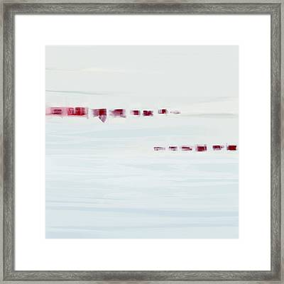 Morning Shore Framed Print