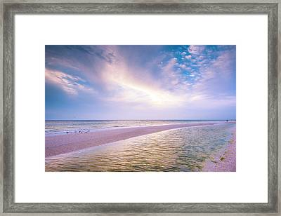 Framed Print featuring the photograph Morning Show by Steven Ainsworth