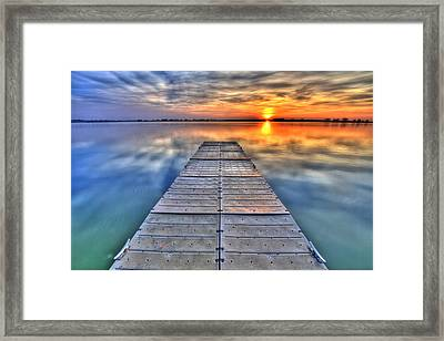 Morning Sky Framed Print