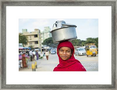 Morning Smiles Framed Print by Tim Gainey