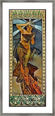 Morning Star 1902 Framed Print by Padre Art