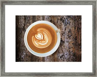 Morning Start Framed Print