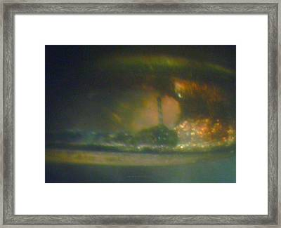 Framed Print featuring the sculpture Morning Storm by Phillip H George
