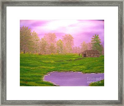 Morning Storm Framed Print by Todd Androy