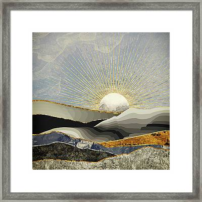 Morning Sun Framed Print by Katherine Smit