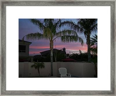 Morning Sunrise 2 Framed Print by Pamela Walrath