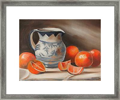 Morning Sunshine Framed Print by Scott Easom