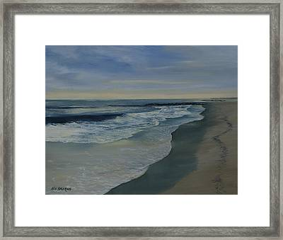 Morning Surf Framed Print