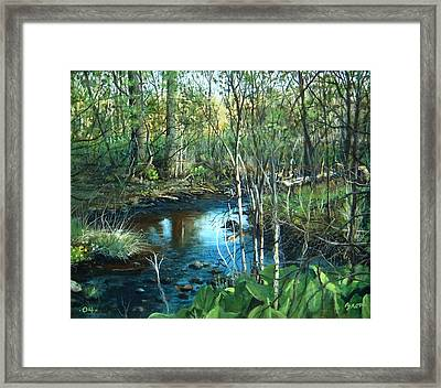 Morning Surprise Framed Print by William  Brody