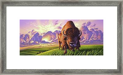 Morning Thunder Framed Print