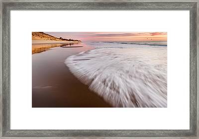 Morning Tide Framed Print by Bill Wakeley