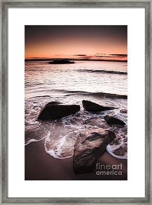 Morning Tide Framed Print by Jorgo Photography - Wall Art Gallery