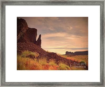 Morning Trek Framed Print by Tara Turner