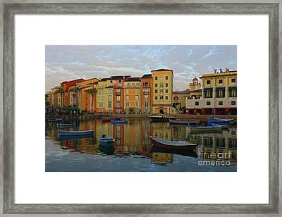 Morning Universal Reflections Framed Print by Deborah Benoit